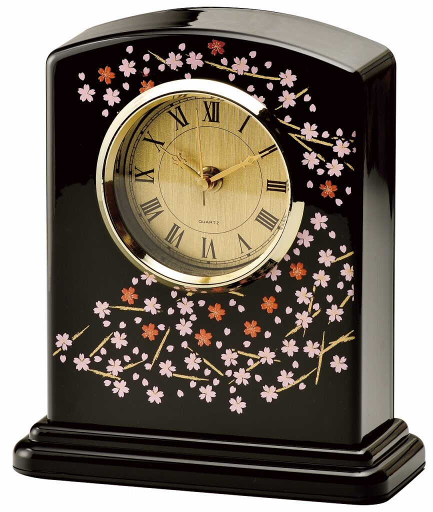 会津塗時計